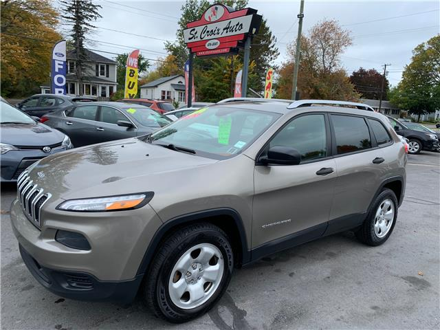 2016 Jeep Cherokee Sport (Stk: S200340A) in Fredericton - Image 1 of 7