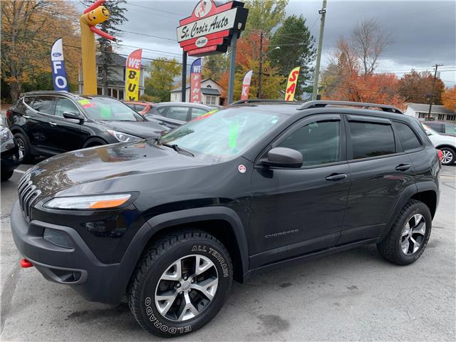 2014 Jeep Cherokee Trailhawk (Stk: s200325b) in Fredericton - Image 1 of 9