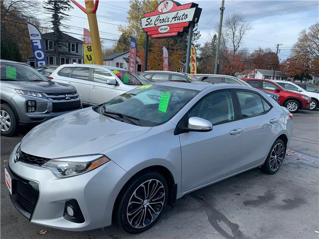 2014 Toyota Corolla S (Stk: S200375C) in Fredericton - Image 1 of 11