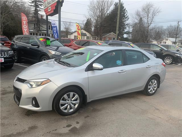 2015 Toyota Corolla S (Stk: s200361a) in Fredericton - Image 1 of 10