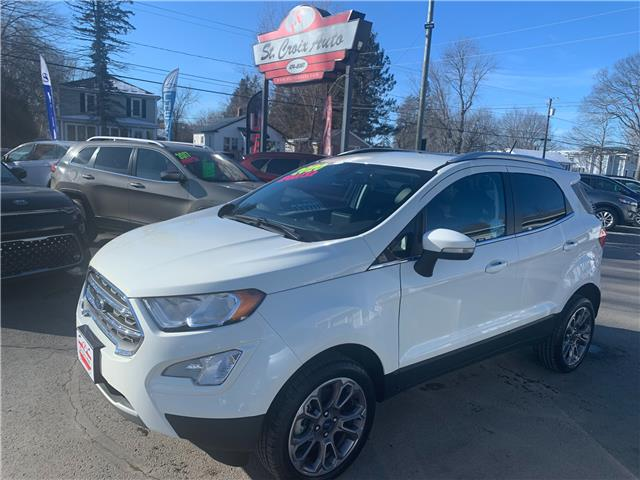 2020 Ford EcoSport Titanium (Stk: s210024a) in Fredericton - Image 1 of 12