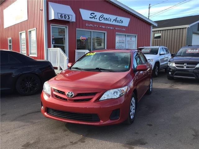 2013 Toyota Corolla LE (Stk: 98218B) in St. Stephen - Image 1 of 10