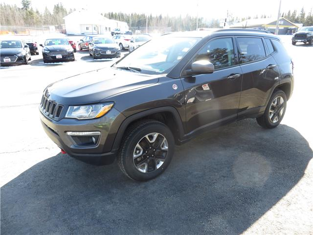 2018 Jeep Compass Trailhawk (Stk: S200018A) in St. Stephen - Image 1 of 19