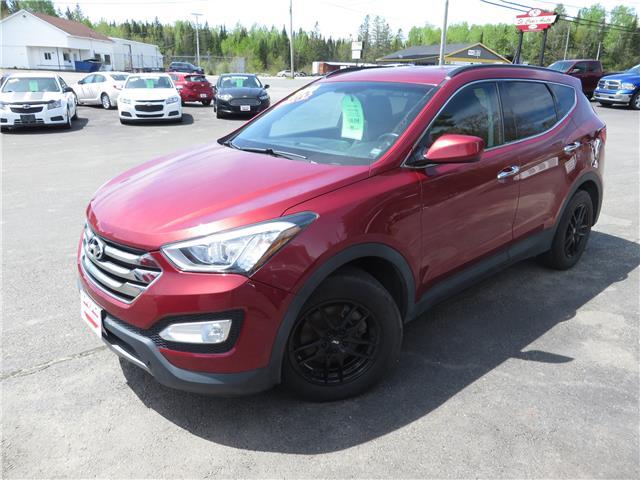 2014 Hyundai Santa Fe Sport 2.4 Premium (Stk: 21783P) in St. Stephen - Image 1 of 11