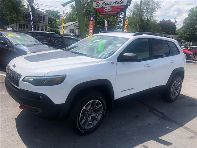 2020 Jeep Cherokee Trailhawk (Stk: s200223a) in St. Stephen - Image 1 of 8