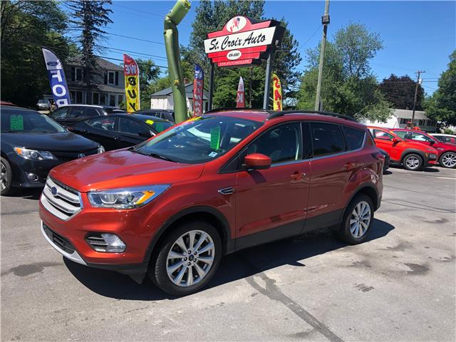 2019 Ford Escape SEL (Stk: S200215A) in St. Stephen - Image 1 of 9