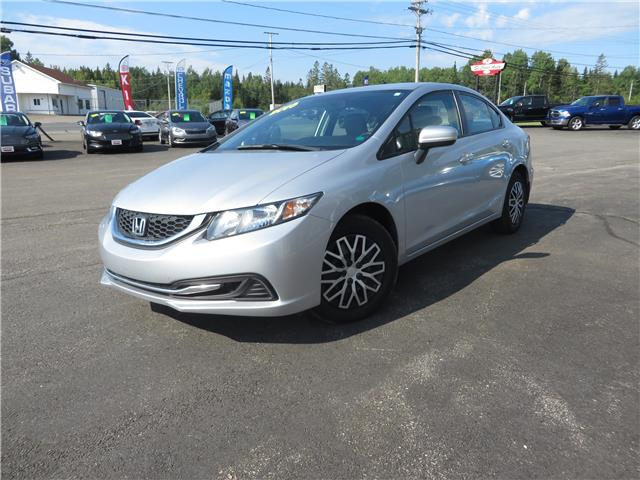 2015 Honda Civic LX (Stk: S200195A) in St. Stephen - Image 1 of 11
