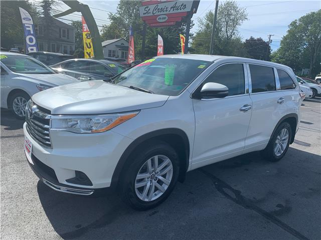 2016 Toyota Highlander LE (Stk: S200316A) in St. Stephen - Image 1 of 8