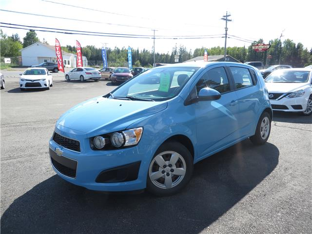 2014 Chevrolet Sonic LS Auto (Stk: S200275A) in St. Stephen - Image 1 of 10