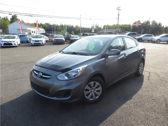 2017 Hyundai Accent LE (Stk: S200307A) in St. Stephen - Image 1 of 9