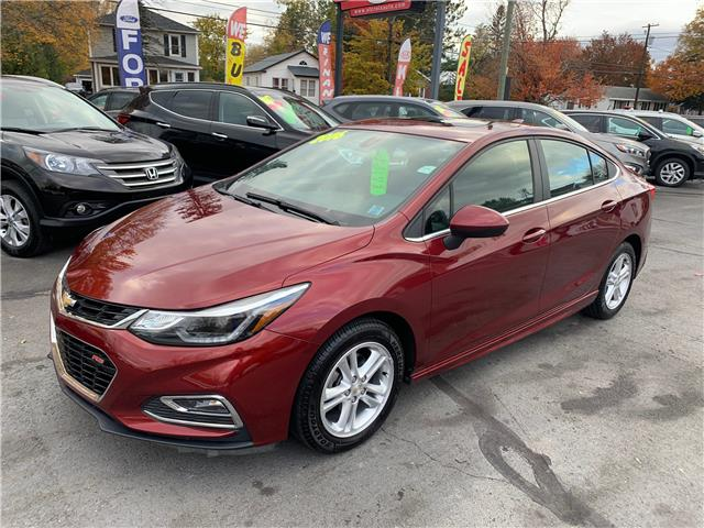 2016 Chevrolet Cruze LT Auto (Stk: S200365A) in St. Stephen - Image 1 of 10
