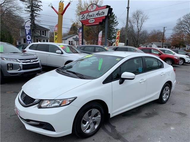 2015 Honda Civic LX (Stk: S200391A) in St. Stephen - Image 1 of 9