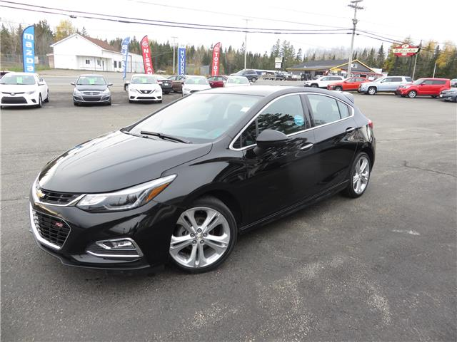 2018 Chevrolet Cruze Premier Auto (Stk: S200377A) in St. Stephen - Image 1 of 14