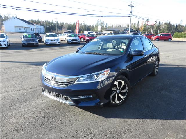 2017 Honda Accord EX-L (Stk: S200400A) in St. Stephen - Image 1 of 16