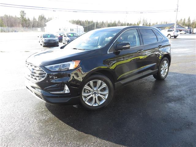 2020 Ford Edge Titanium (Stk: S210033A) in St. Stephen - Image 1 of 23