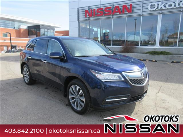2016 Acura MDX Navigation Package (Stk: 10289) in Okotoks - Image 1 of 32