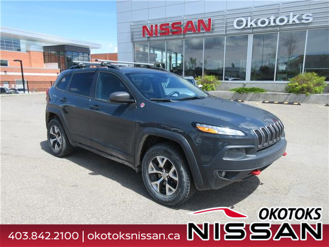 2016 Jeep Cherokee Trailhawk (Stk: 10478) in Okotoks - Image 1 of 24