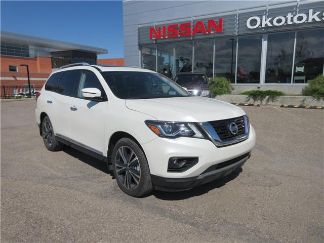 2018 Nissan Pathfinder Platinum (Stk: 10589) in Okotoks - Image 1 of 33