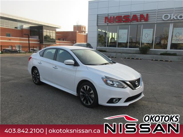 2017 Nissan Sentra 1.6 SR Turbo (Stk: 10684) in Okotoks - Image 1 of 21