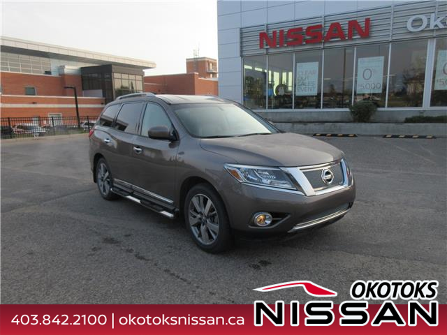 2014 Nissan Pathfinder Platinum (Stk: 5706) in Okotoks - Image 1 of 33