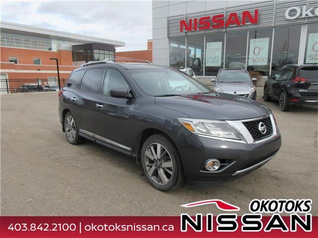 2013 Nissan Pathfinder Platinum (Stk: 10854) in Okotoks - Image 1 of 25