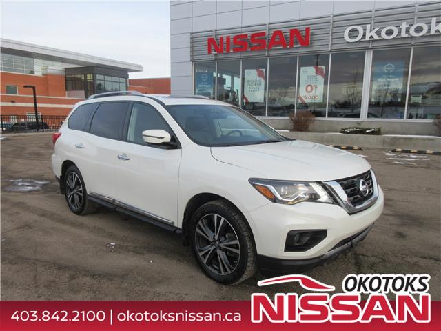 2018 Nissan Pathfinder Platinum (Stk: 10001) in Okotoks - Image 1 of 32