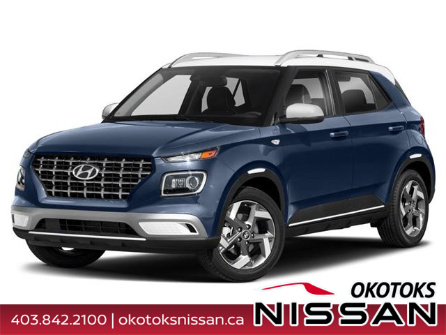 2020 Hyundai Venue Ultimate w/Black Interior (IVT) (Stk: 11137) in Okotoks - Image 1 of 9