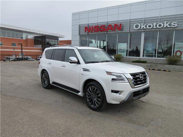 2021 Nissan Armada Platinum (Stk: 11572) in Okotoks - Image 1 of 38