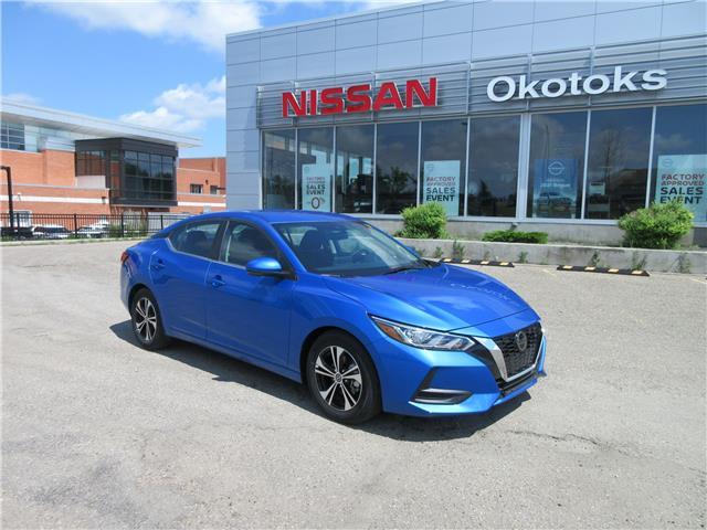 2021 Nissan Sentra SV (Stk: 11129) in Okotoks - Image 1 of 26