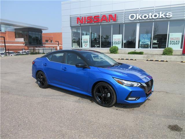 2021 Nissan Sentra SR (Stk: 11690) in Okotoks - Image 1 of 24