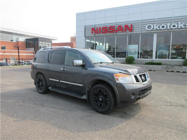 2012 Nissan Armada Platinum Edition (Stk: 11747) in Okotoks - Image 1 of 2
