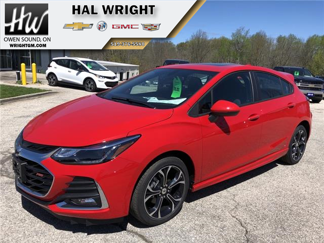 2019 Chevrolet Cruze LT (Stk: 11958) in Owen Sound - Image 1 of 13