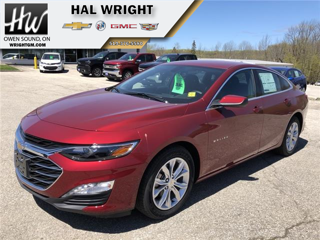2019 Chevrolet Malibu LT (Stk: 37406) in Owen Sound - Image 1 of 13