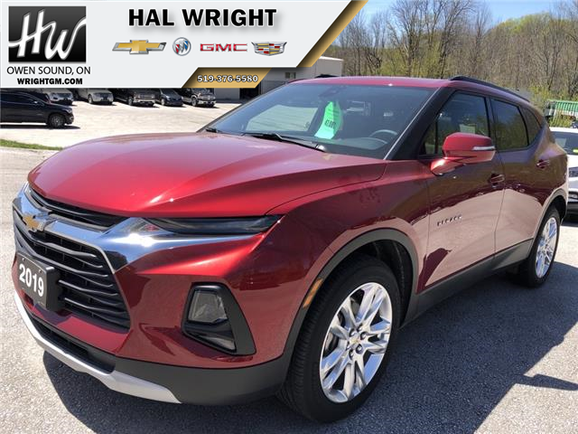 2019 Chevrolet Blazer 3.6 True North (Stk: 11963) in Owen Sound - Image 1 of 13
