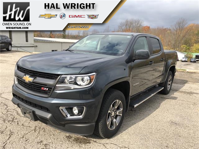 2017 Chevrolet Colorado Z71 (Stk: 1GCGTD) in Owen Sound - Image 1 of 12