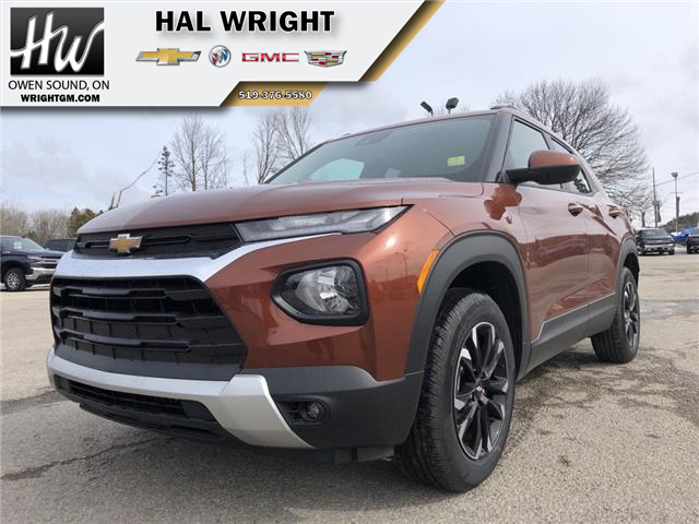 2021 Chevrolet TrailBlazer LT (Stk: 40109) in Owen Sound - Image 1 of 14