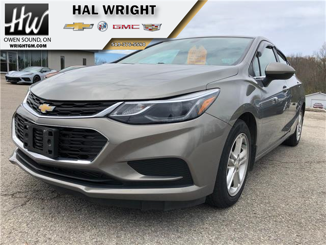 2017 Chevrolet Cruze LT Auto (Stk: 33377) in Owen Sound - Image 1 of 16