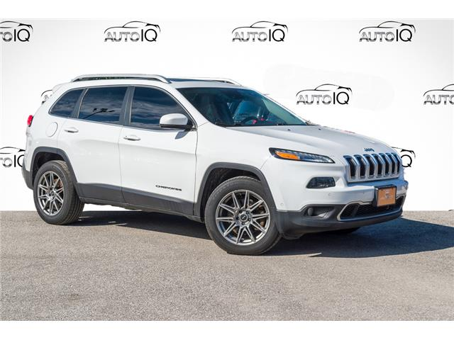 2014 Jeep Cherokee Limited (Stk: 27635UXZ) in Barrie - Image 1 of 28