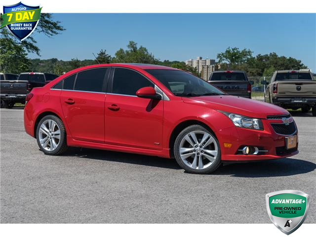 2012 Chevrolet Cruze LT Turbo (Stk: 27285U) in Barrie - Image 1 of 8