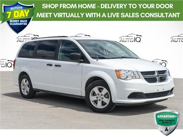 2018 Dodge Grand Caravan CVP/SXT White