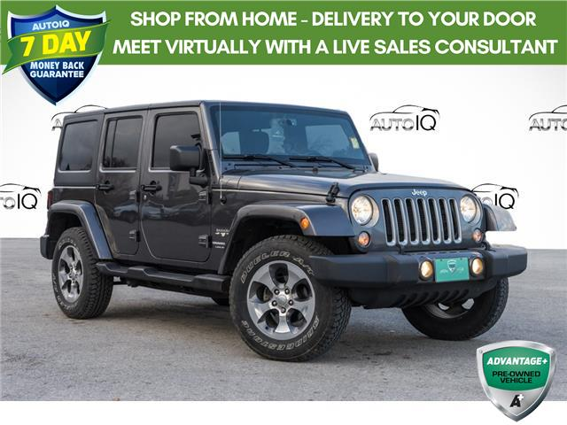 2018 Jeep Wrangler JK Unlimited Sahara (Stk: 34520AU) in Barrie - Image 1 of 19