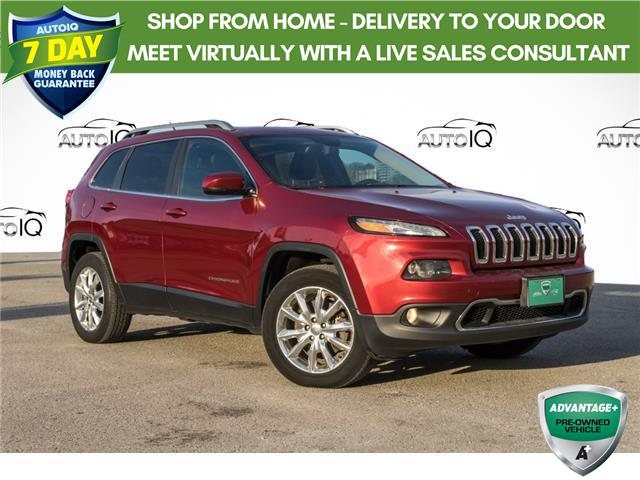 2014 Jeep Cherokee Limited (Stk: 27644AU) in Barrie - Image 1 of 29