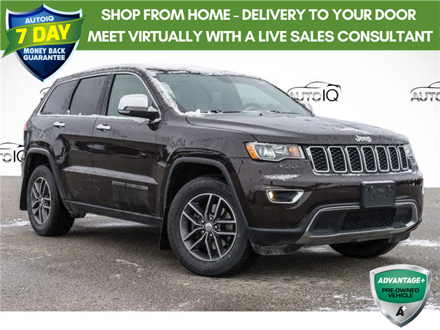 2017 Jeep Grand Cherokee Limited Black