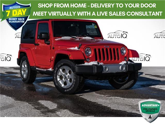 2015 Jeep Wrangler Sahara (Stk: 34445AU) in Barrie - Image 1 of 18