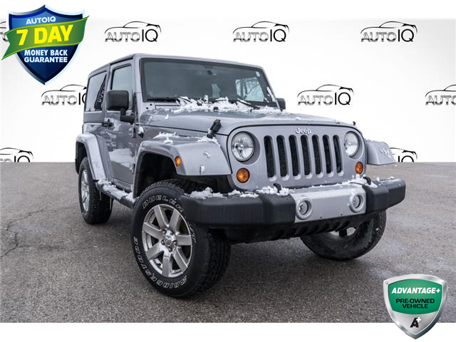 2013 Jeep Wrangler Sahara (Stk: 34489BU) in Barrie - Image 1 of 23