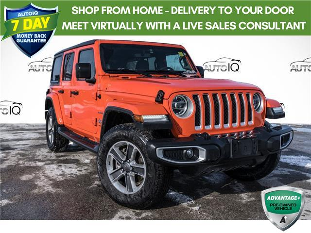 2019 Jeep Wrangler Unlimited Sahara (Stk: 34808AU) in Barrie - Image 1 of 23