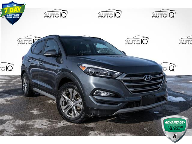 2017 Hyundai Tucson Limited (Stk: 34809AUX) in Barrie - Image 1 of 21