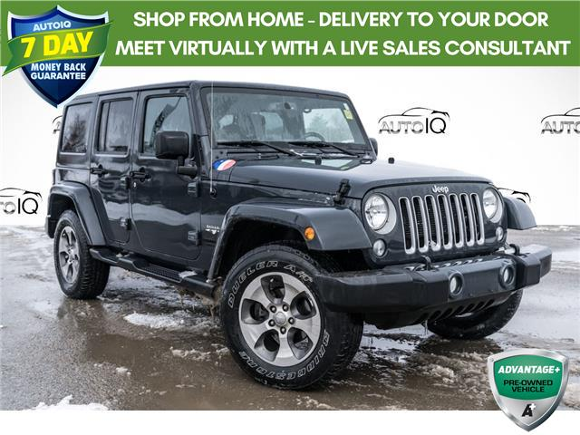 2016 Jeep Wrangler Unlimited Sahara (Stk: 34826AUX) in Barrie - Image 1 of 9