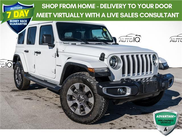 2019 Jeep Wrangler Unlimited Sahara (Stk: 27830AU) in Barrie - Image 1 of 23