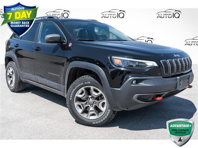 2019 Jeep Cherokee Trailhawk (Stk: 34691AU) in Barrie - Image 1 of 27